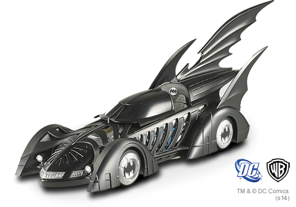 Batman Forever ELITE 1995 1:18 Scale Die-Cast Batmobile