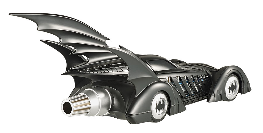 Batman Forever ELITE 1995 1:18 Scale Die-Cast Batmobile - Click Image to Close