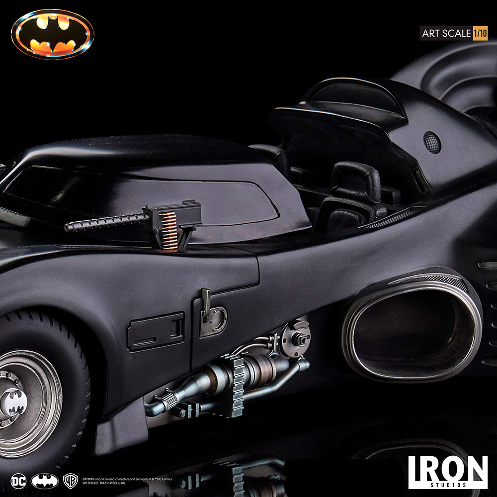 "Batman (1989) Batmobile 1/10 Scale 28"" Long Art Scale Limited Edition Replica by Iron Studios"