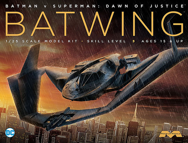 Batman Vs. Superman Batplane (Batwing) 1/24 Model Kit