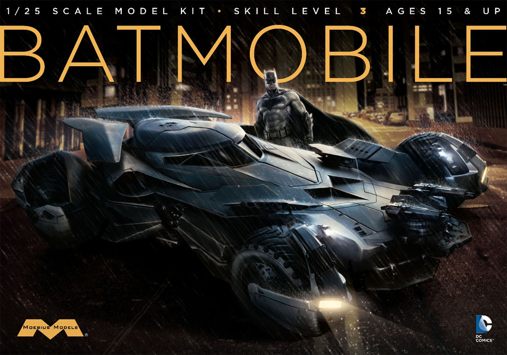 Batman Vs. Superman Dawn Of Justice Batmobile Model Kit ...