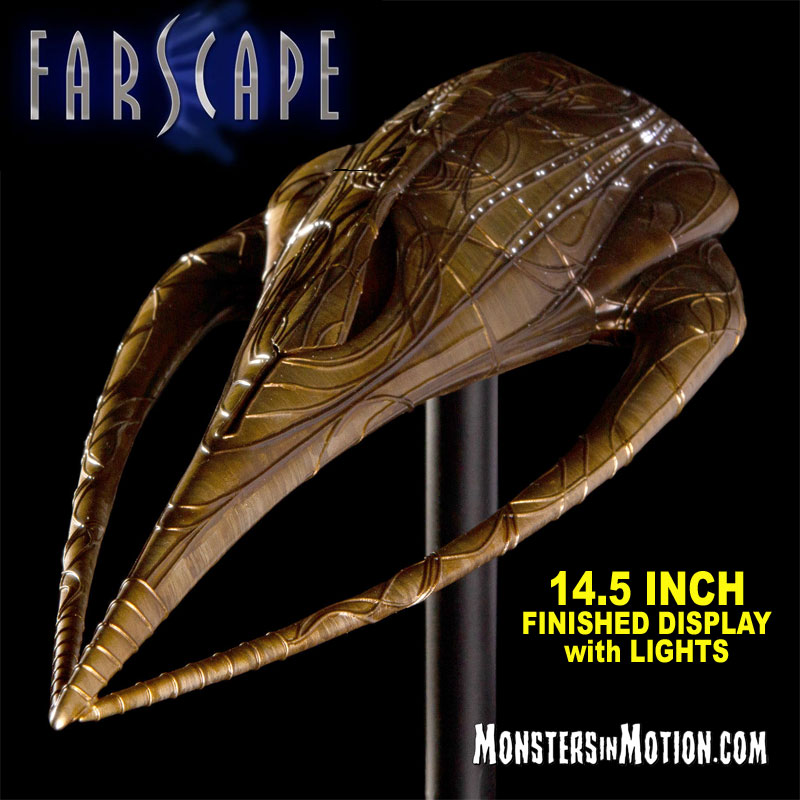 Farscape TV Series Moya Leviathan Spaceship Replica Model