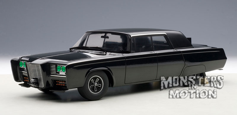 Green Hornet Classic Black Beauty 1/18 Scale Diecast Car by AutoArt