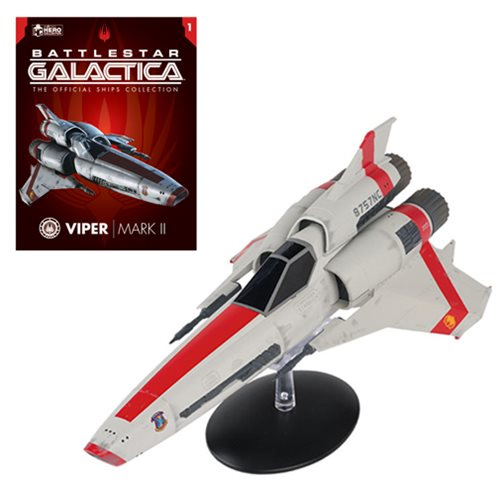 Battlestar Galactica Ships Viper MK II with Collector's Magazine #1