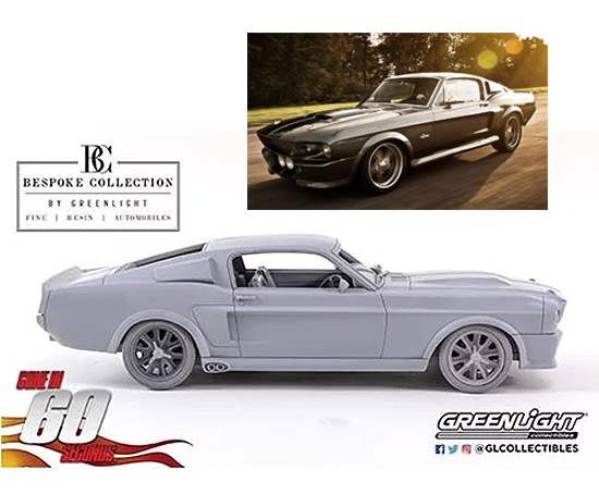 Gone in Sixty Seconds (2000) 1967 Ford Mustang Eleanor Bespoke Collection 1/12 Scale Resin Replica FREE US SHIPPING!