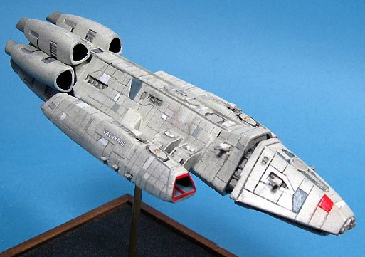 Battlestar Galactica 2003 Valkyrie 1/3700 Scale Resin Model Kit