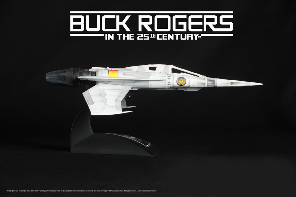 Buck Rogers 25th Century Starfighter 1/24 Studio Miniature - Click Image to Close