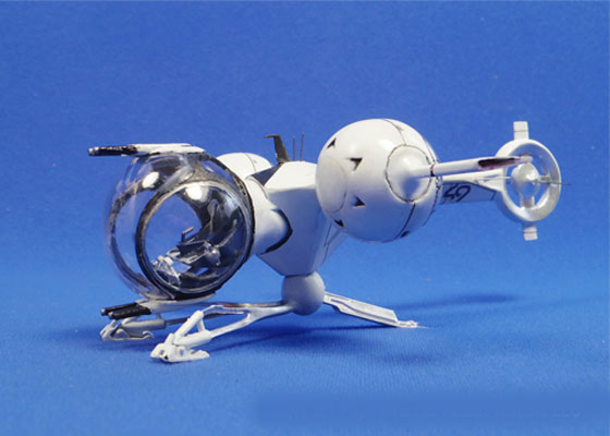 Oblivion 2013 Bubble Ship 1/48 Scale Model Kit