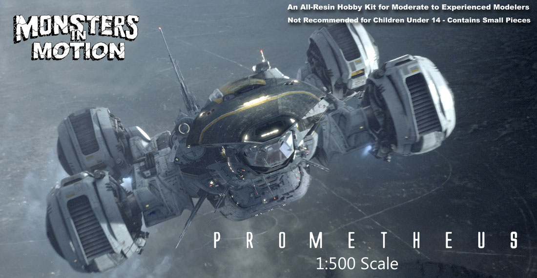 Prometheus 2012 1/500 Scale Model Kit