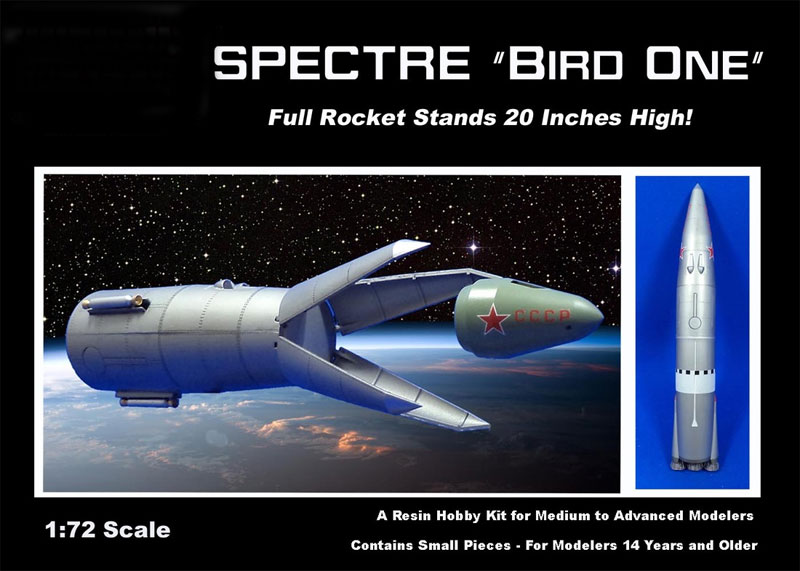 "Spectre ""Bird One"" 1:72 Scale Model Kit 20"" Tall"