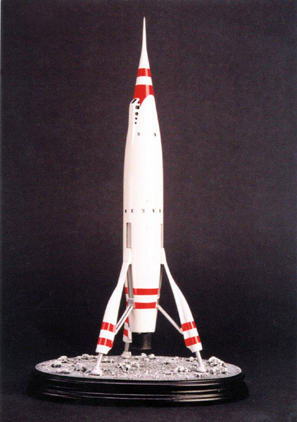 T.W.A. Mars Liner Rocket Ship Plastic Model Spacecraft Kit 1:144 Scale