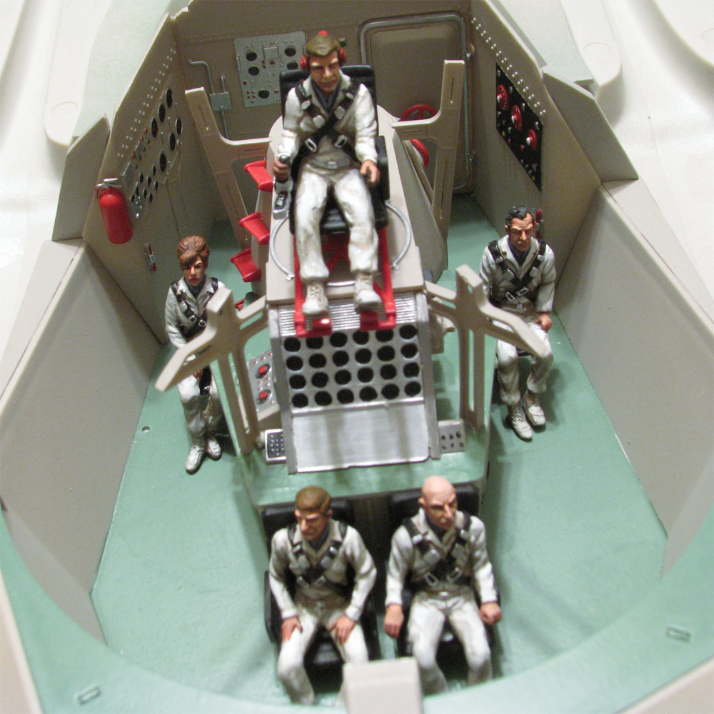 Fantastic Voyage 1/32 Scale Proteus Sitting Figures Model Kit
