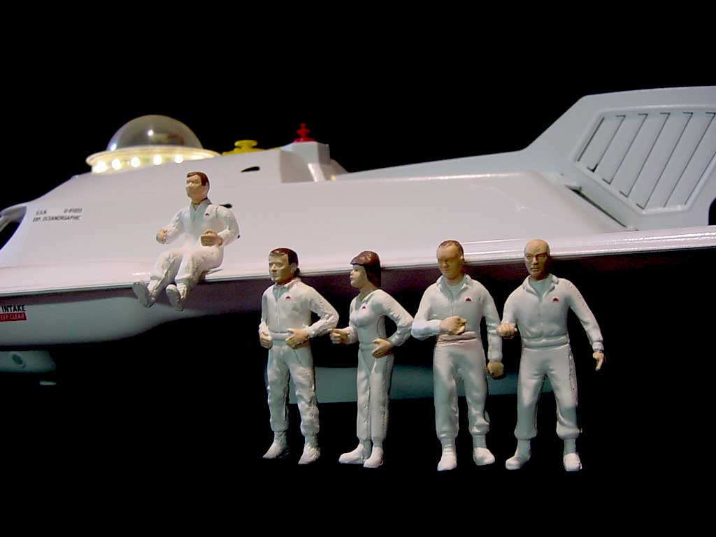 Fantastic Voyage 1/32 Scale Proteus Model Kit Figure Set
