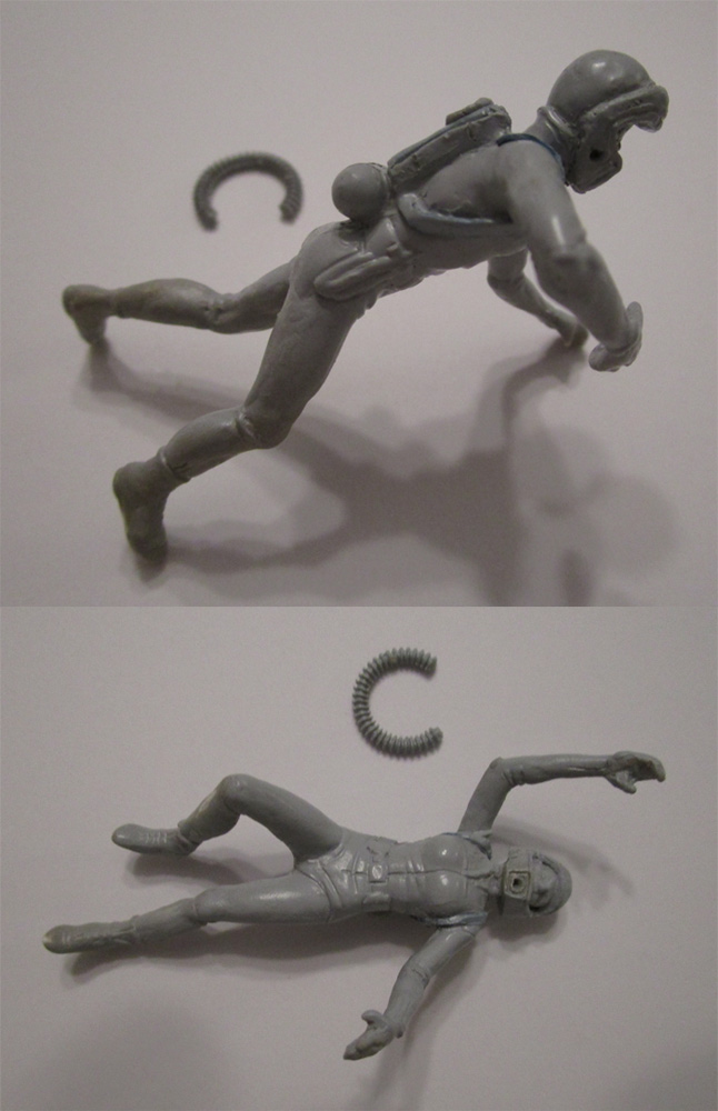 Fantastic Voyage 1/32 Scale Proteus Diving Figures Model Kit