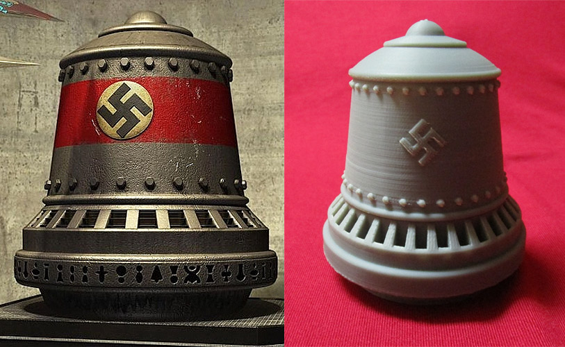 Die Glocke The Bell WWII Nazi Miracle Weapon or Wunderwaffe 1/48 Scale Model Kit