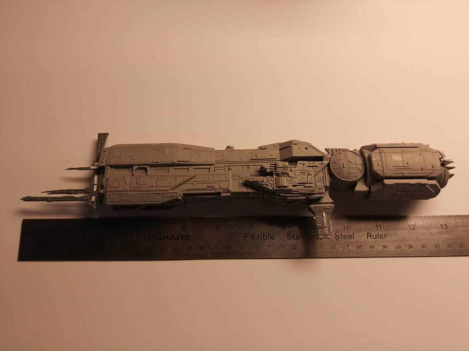 "Aliens Sulaco 13"" Model Kit"