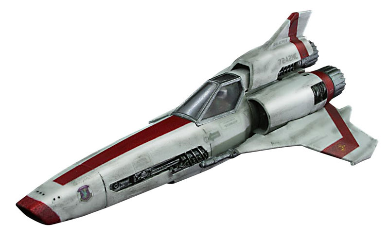Battlestar Galactica 2003 Colonial Viper MK II 1/72 Scale Model Kit 2 Pack