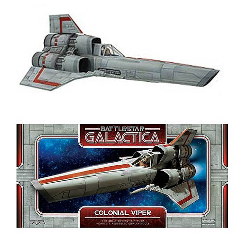 Battlestar Galactica 1978 Colonial Viper MK I 1/32 Scale Finished Display