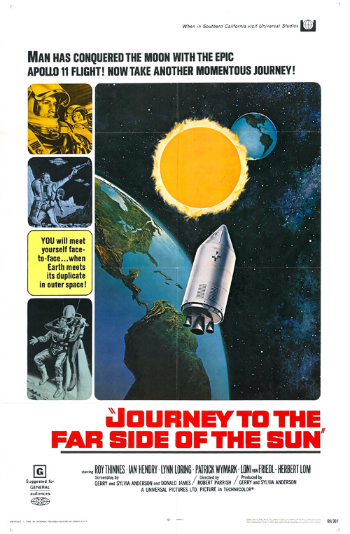 Journey to the Far Side of the Sun Dove Spacecraft Doppleganger Model Kit