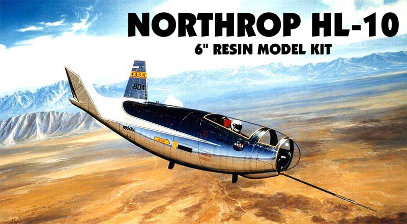 Northrop HL-10 Spacecraft 1/48 Scale Resin Model Kit