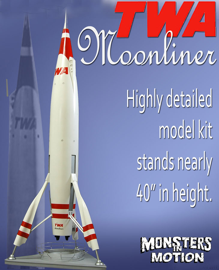 "TWA 40"" Mars Liner Studio Scale Model KIt"