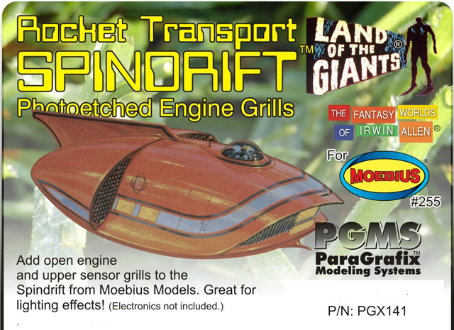 Land of the Giants Spindrift Photoetch Set 1/128 Scale