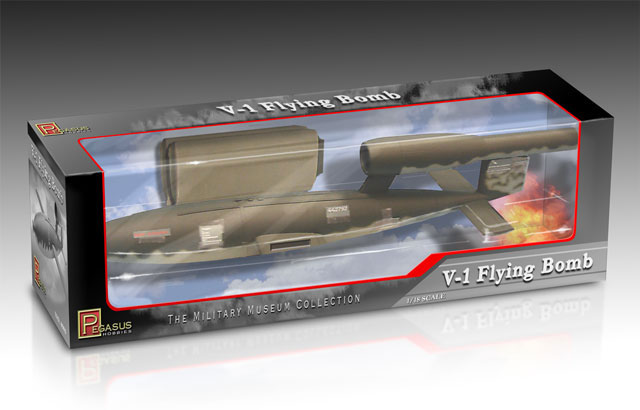 V-1 Flying Bomb 1:18 PREBUILT Miniature-Military Museum Collection