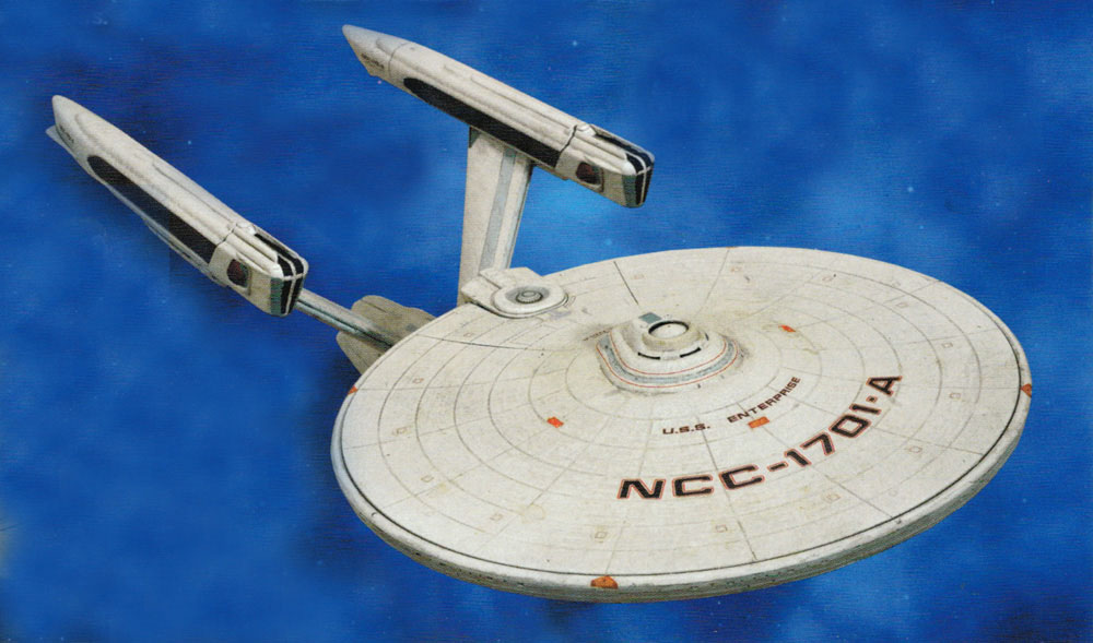 Star Trek VI: The Undiscovered Country U.S.S. Enterprise NCC-1701-A Electronic Vehicle