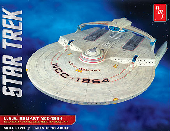 Star Trek U.S.S. Reliant 1/537 Scale Model Kit by AMT