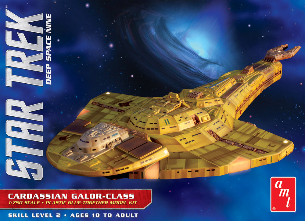 Star Trek Deep Space Nine 1/750 Scale Cardassian Galor Class Model Kit