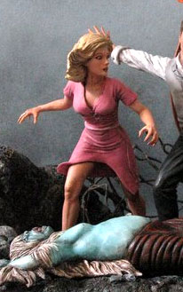 Time Machine 1960 ULTIMATE Poster Diorama 1/8 Scale Model Kit #2 Weena Figure