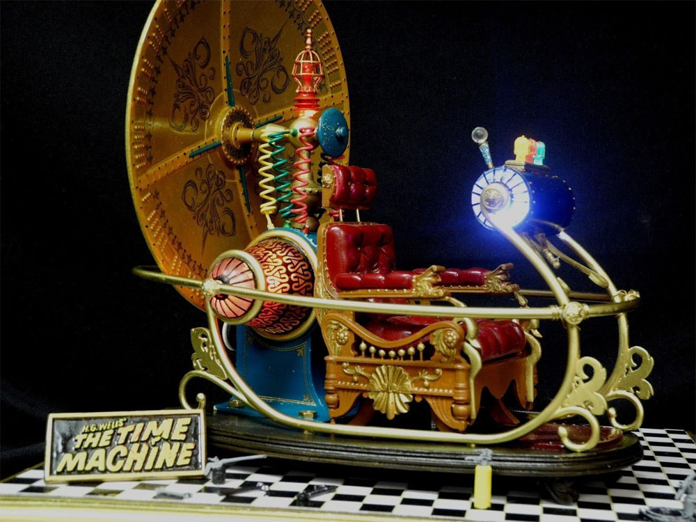 Time Machine 1960 Deluxe 1/6 Scale Model Light Kit Set