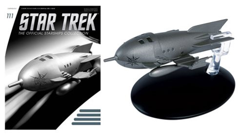 Star Trek Starships Voyager Captain Proton's Rocket Ship Flash Gordon Vehicle with Magazine