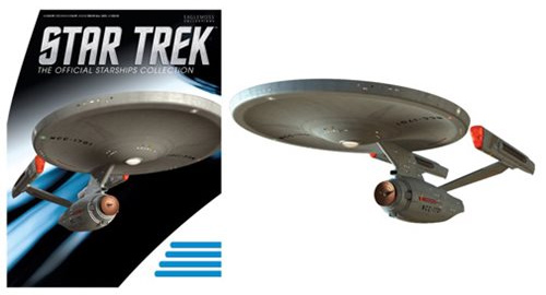 Star Trek Starships Phase II Enterprise Vehicle with Bonus Magazine