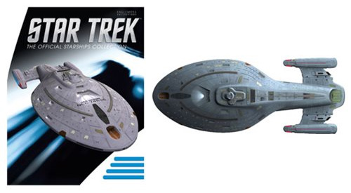 Star Trek Starships Special Large U.S.S. Voyager Vehicle with Magazine