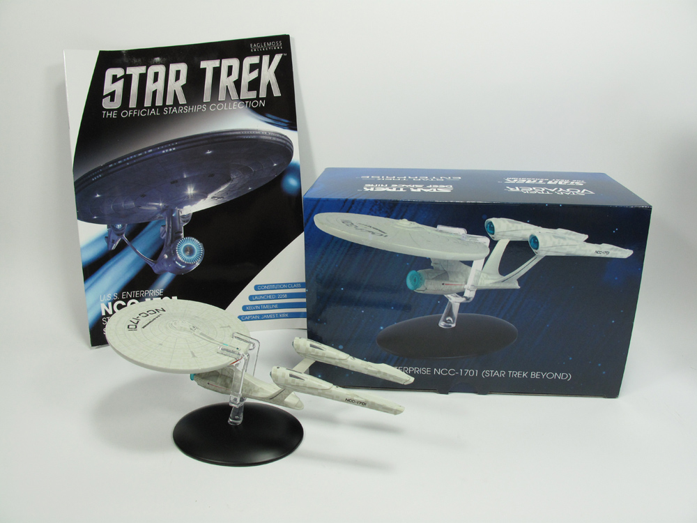 Star Trek Starships Special Beyond Movie U.S.S. Enterprise NCC-1701 with Collector Magazine