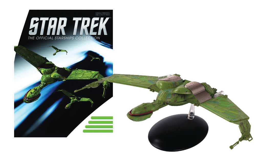 Star Trek Starships Special Klingon Bird of Prey Die-Cast Vehicle (Large) with Collector Magazine #32