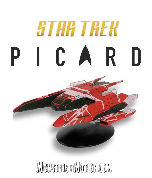 Star Trek Picard Starships La Sirena Ship with Magazine