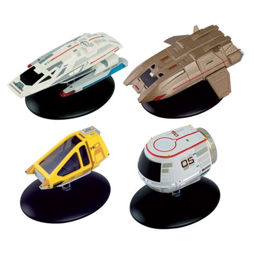 Star Trek Starships Collection Shuttlecraft Set #3 4-Pack