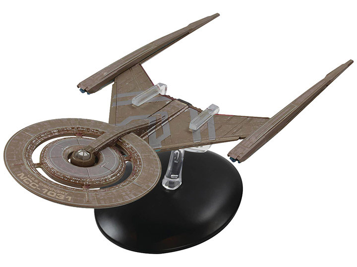 Star Trek Discovery U.S.S. Discovery NCC-1031 Vehicle with Collector Magazine #2
