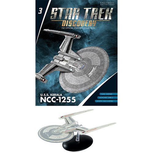 Star Trek Discovery U.S.S. Kerala Shepard Class Die-Cast Vehicle with Collector Magazine #3