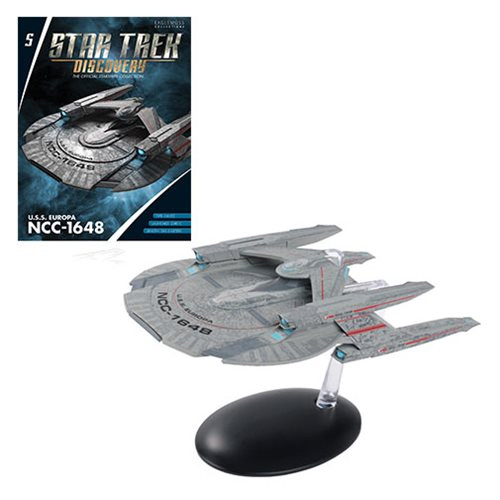 Star Trek Discovery Starships Collection U.S.S. Europa NCC-1648 Die-Cast Metal Vehicle with Collector Magazine #5