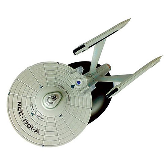 Star Trek Starships U.S.S. Enterprise 1701-A Die-Cast Vehicle with Magazine