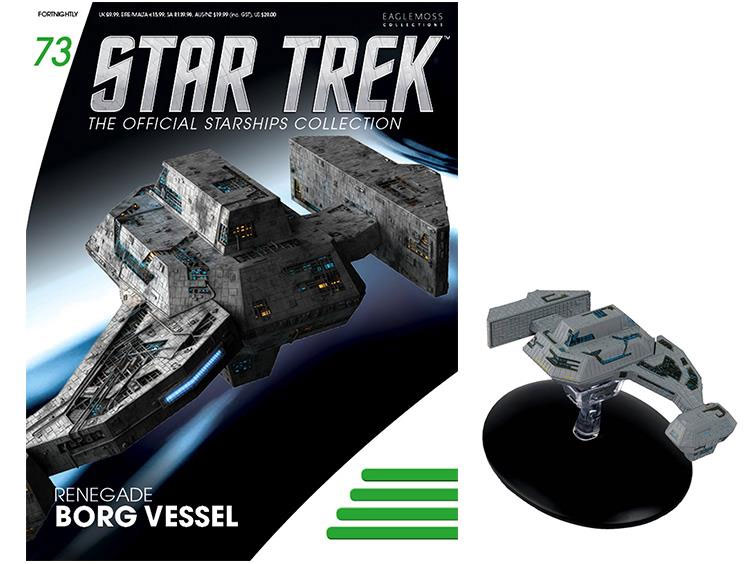 Star Trek Starships Collection Renegade Borg Vessel Replica