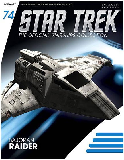 Star Trek Starships Collection Bajoran Raider Replica