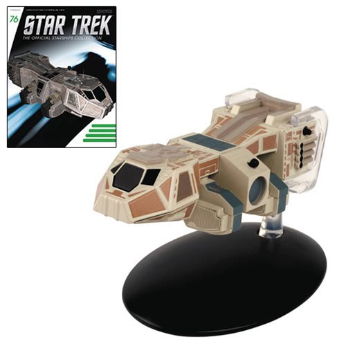Star Trek Starships Neelixs Ship Baxial Die-Cast Vehicle with Collector Magazine