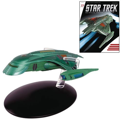 Star Trek Starships Romulan Shuttle Die-Cast Vehicle with Collector Magazine