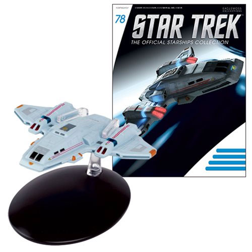 Star Trek Starships Voyager Aeroshuttle Die-Cast Vehicle with Magazine