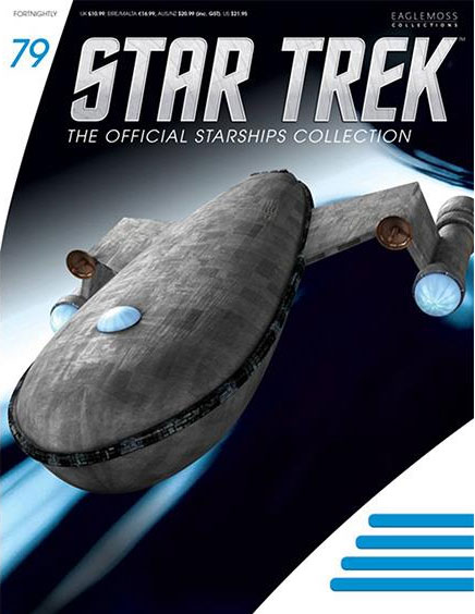 Star Trek Starships Collection Harry Mudds Class J Ship with Magazine