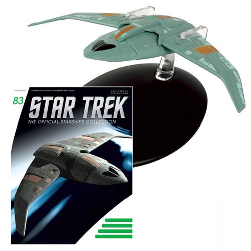 Star Trek Starships Bajoran Troop Transport Die-Cast Vehicle with Magazine
